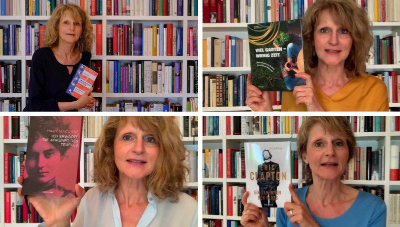 Buchpräsentationen von Silvia Maul